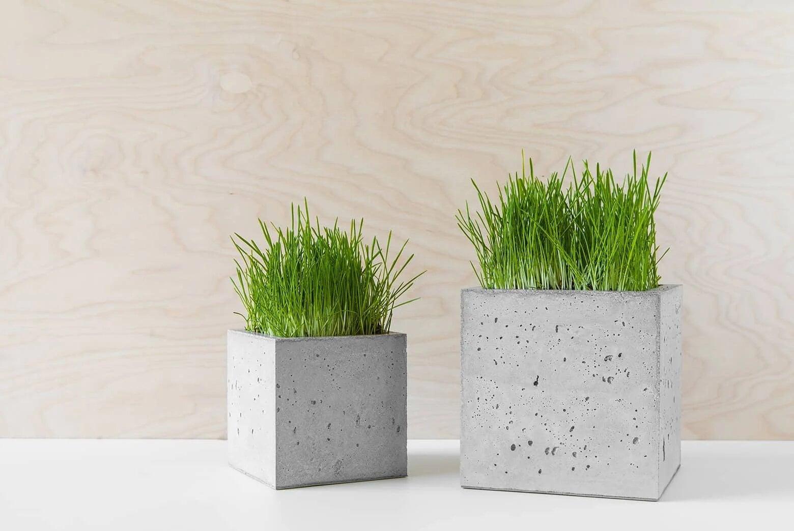 doniczki betonowe