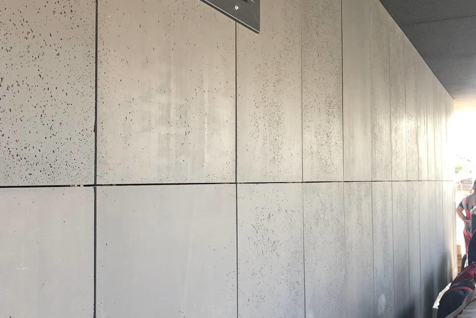 Betonowe płyty ścienne 120x60