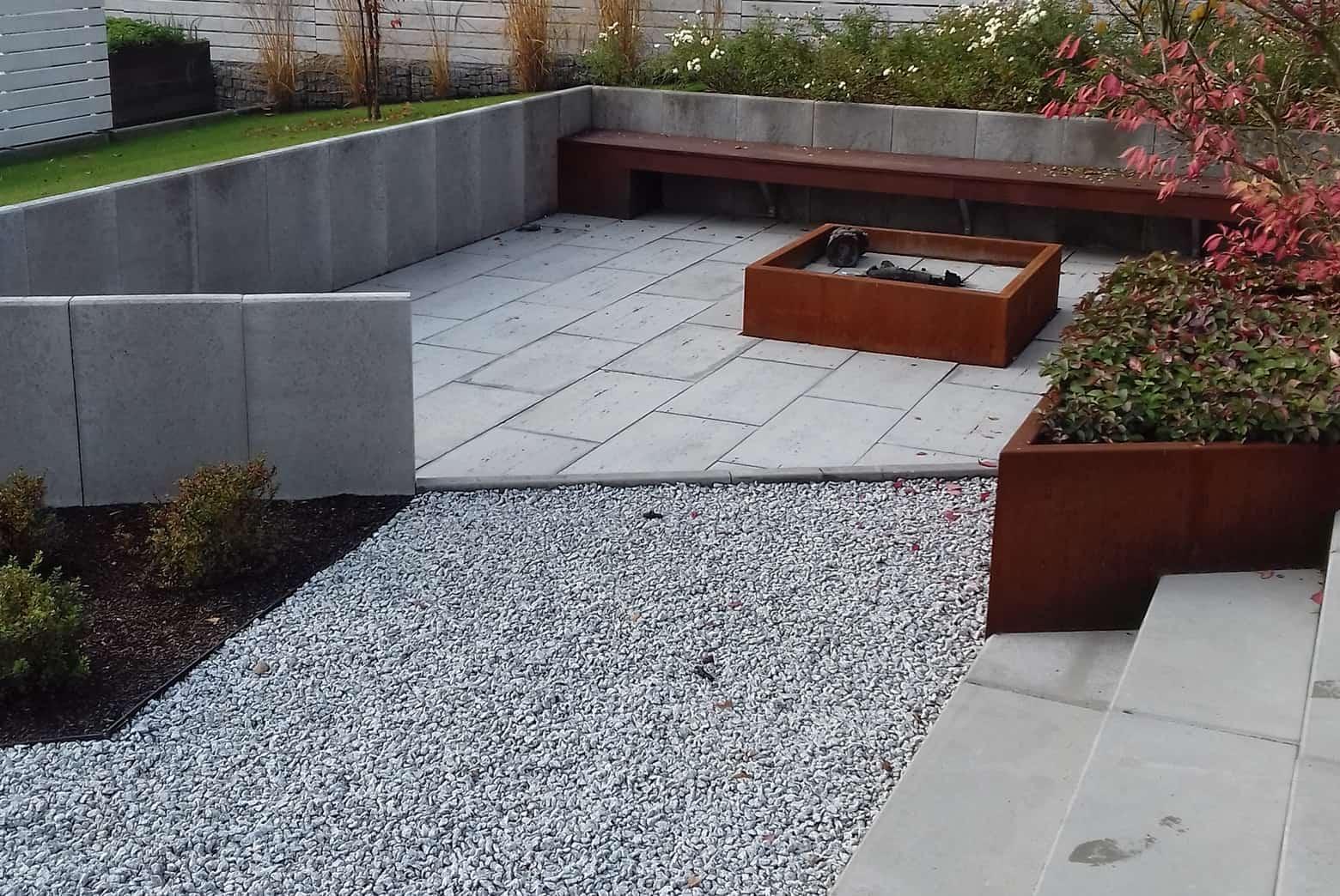 Płyty tarasowe ogród