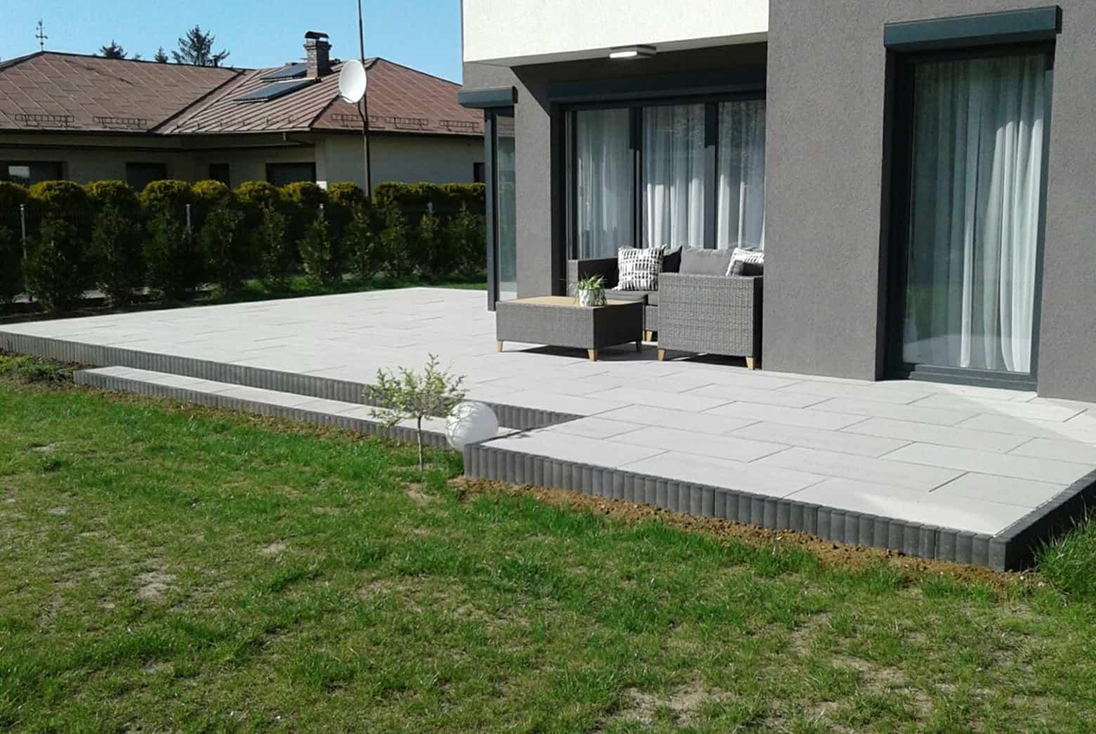 Płyty tarasowe - patio