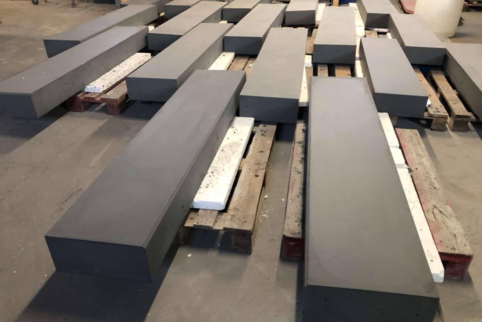 Parapety betonowe