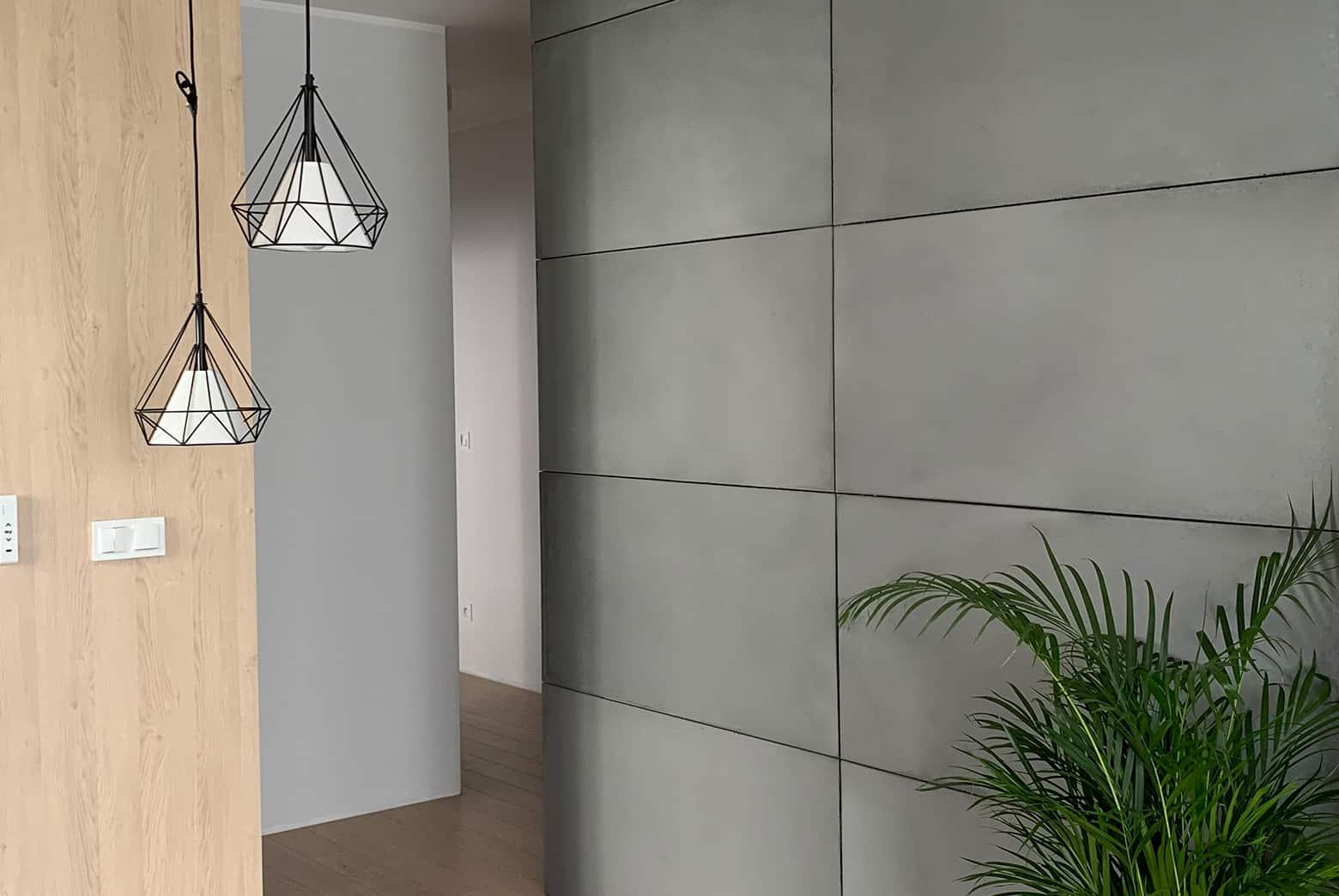 Płyty ścienne z betonu architektonicznego