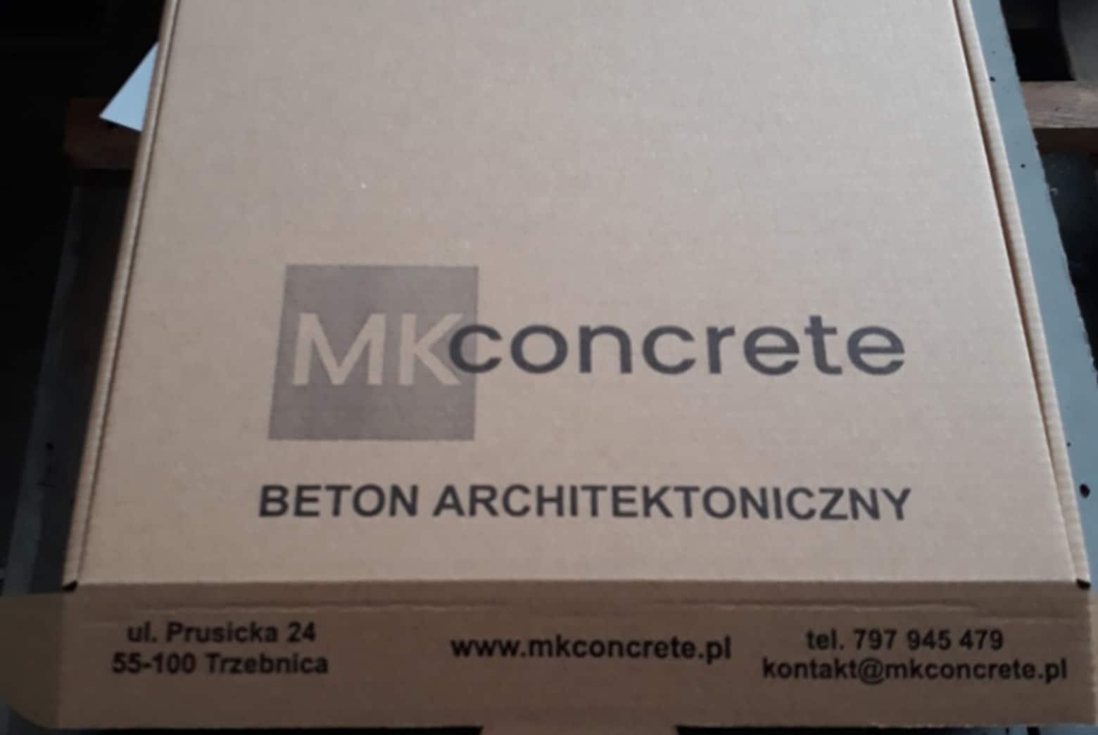 Próbki beton architektoniczny