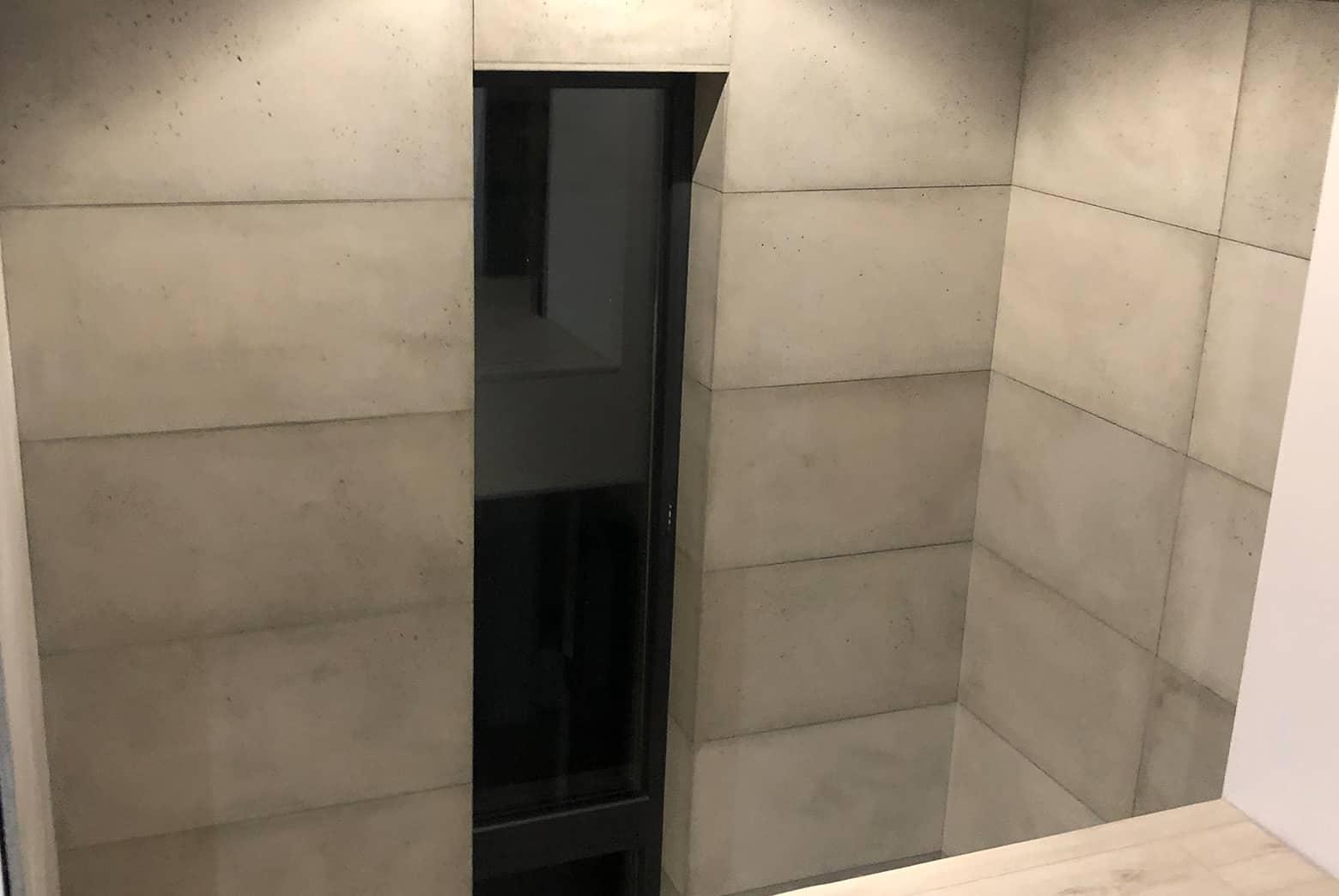 Płyty betonowe hol