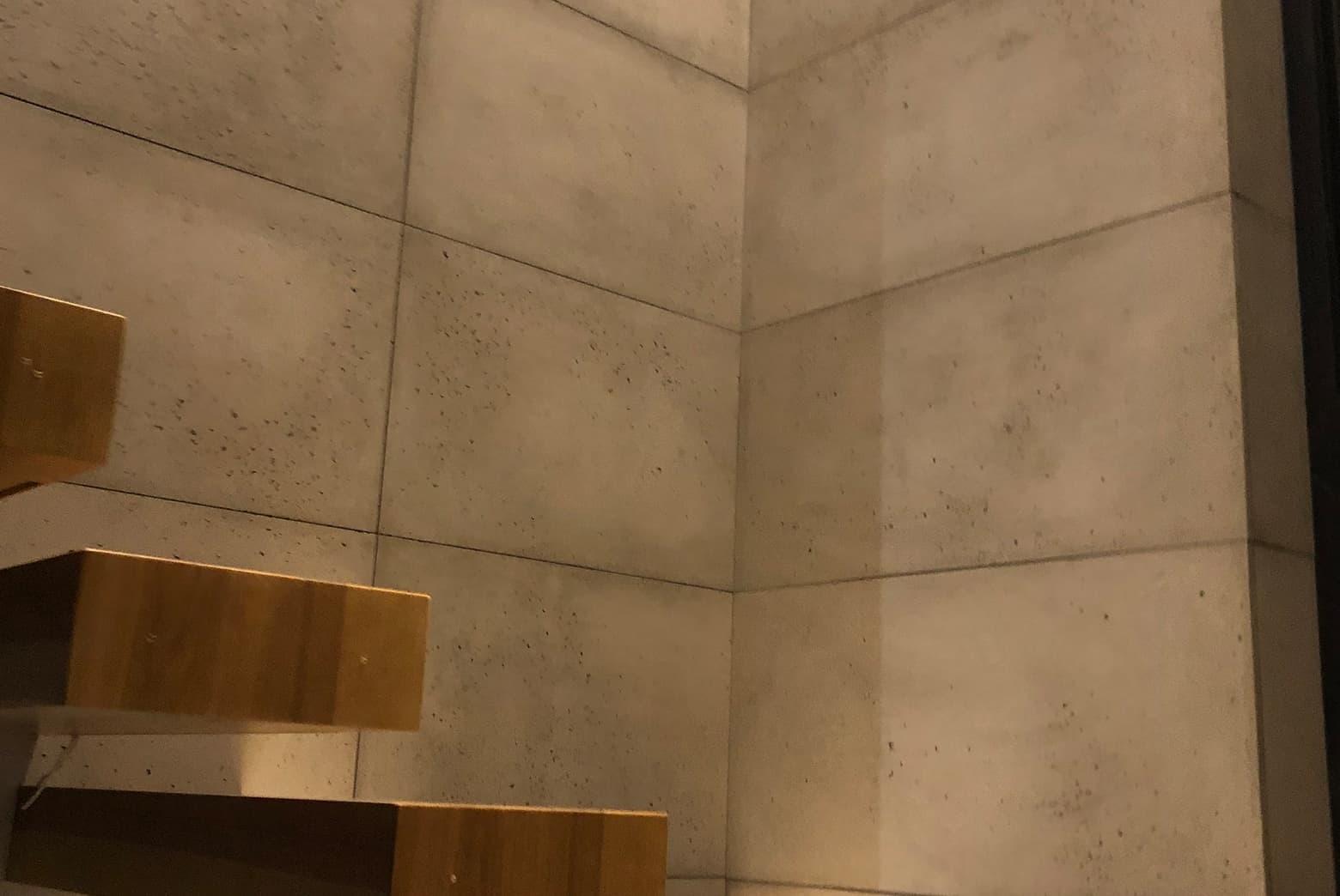 Płyty betonowe ścienne schody